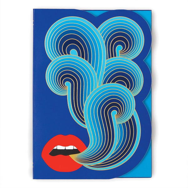 Jonathan Adler Lips - Diecut Journal