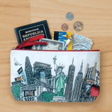 Handmade Pouch - New York City - NYC