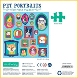 Pet Portraits 500 Piece Jigsaw Puzzle