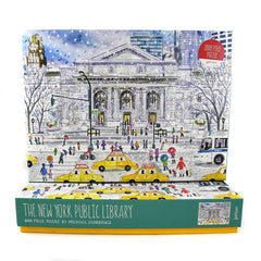 1000 Piece Jigsaw Puzzle - Michael Storrings New York Public Library