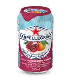 San Pellegrino Pomegranate Orange Sparkling Fruit Beverage (330ml Can)