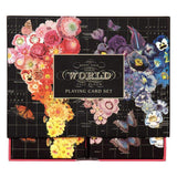 Wendy Gold Full Bloom Playing Cards