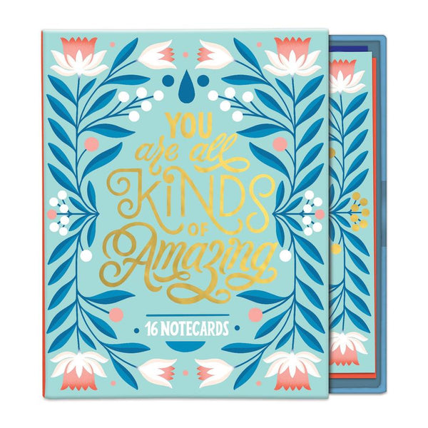 You Are All Kinds of Amazing Greeting Assortment Notecard Box