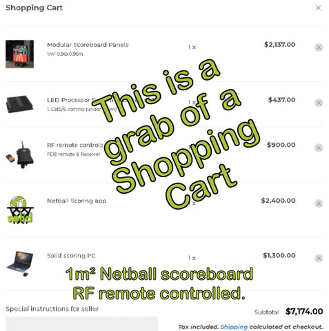 Netball with RF remote control