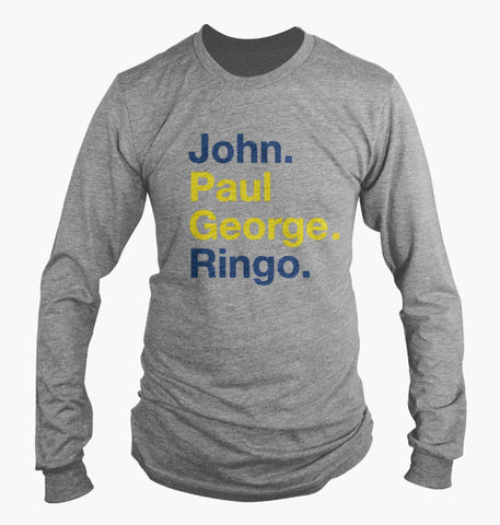 John Paul George Ringo (Long Sleeve 24)