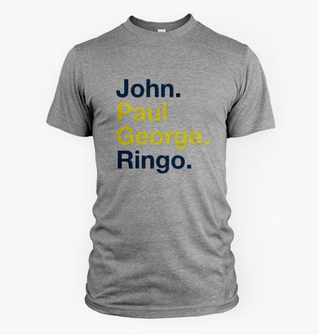 John Paul George Ringo (Grey)