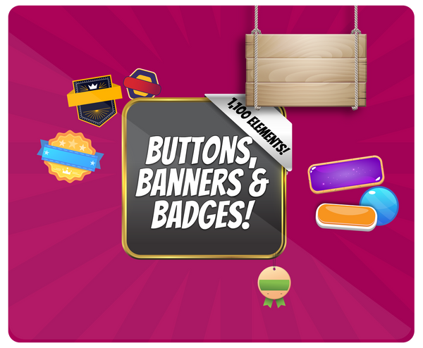 Graphic Buttons and Banner Design