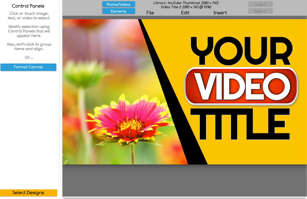 Create your own YouTube Channel Art with easy to use templates