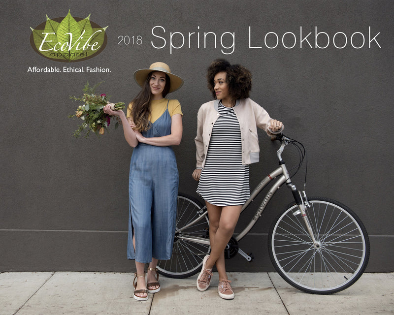 Beauty in Bloom: Spring 2018 Lookbook-EcoVibe Apparel