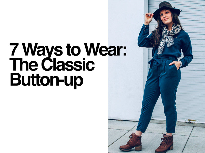 Styling 101: Reinvent Your Tencel Button-Up-EcoVibe Apparel