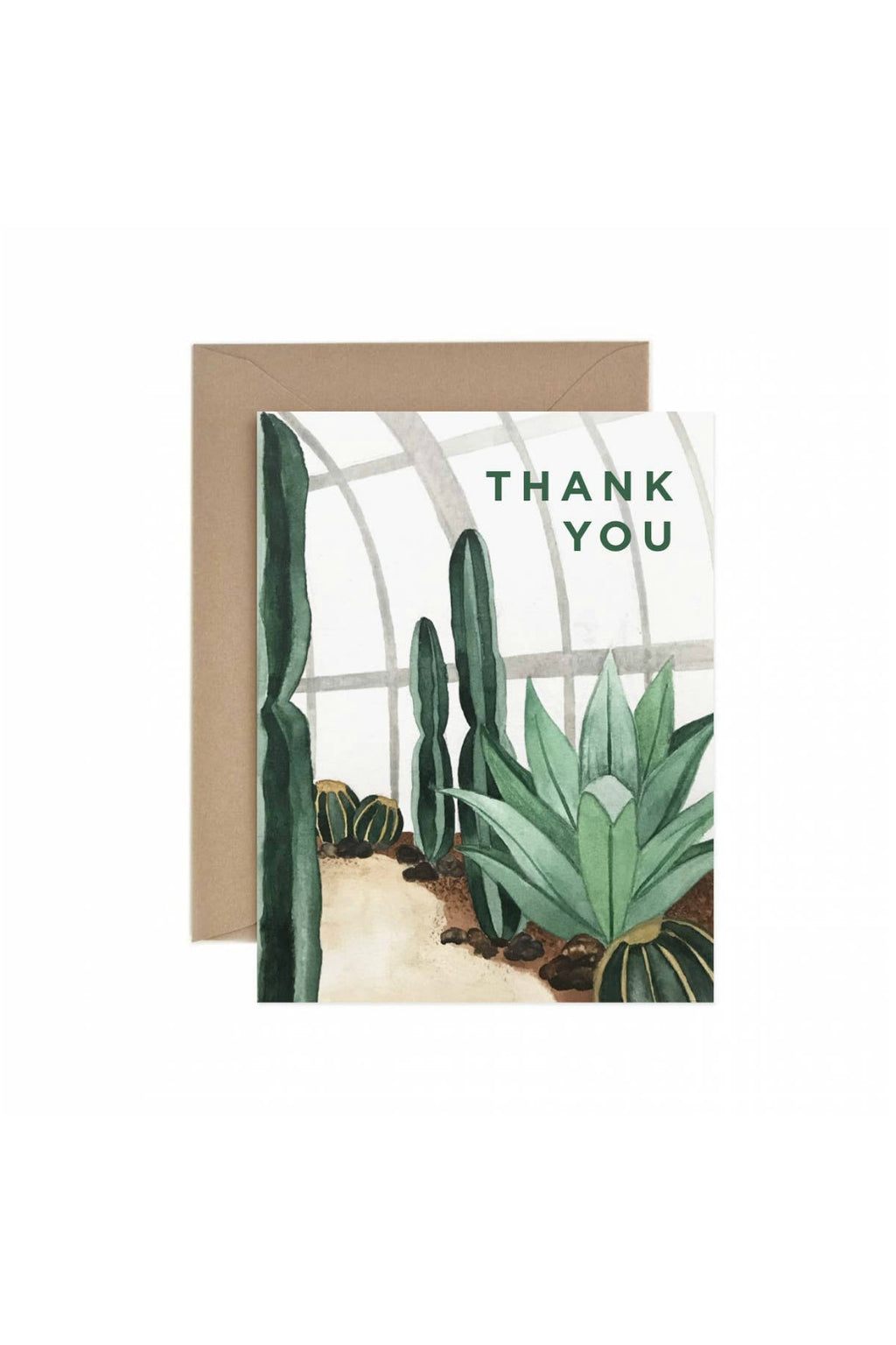 Paper Anchor Co. Thank You Cactus Greeting Card