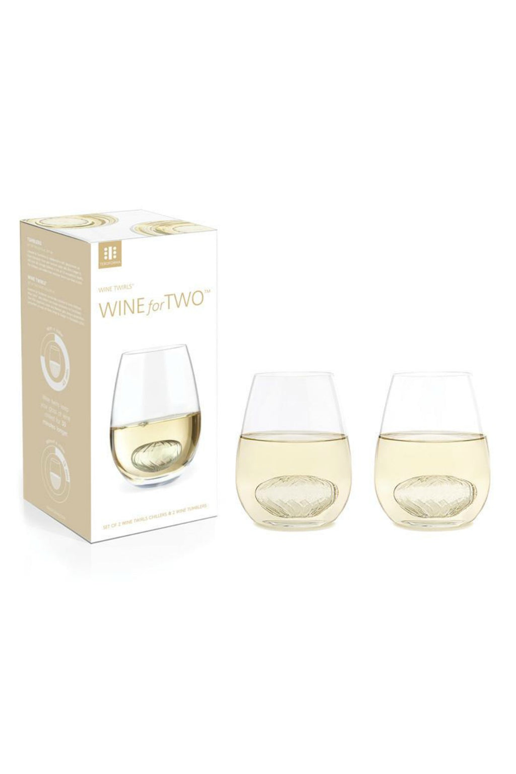 Teroforma Wine For Two Glass Set