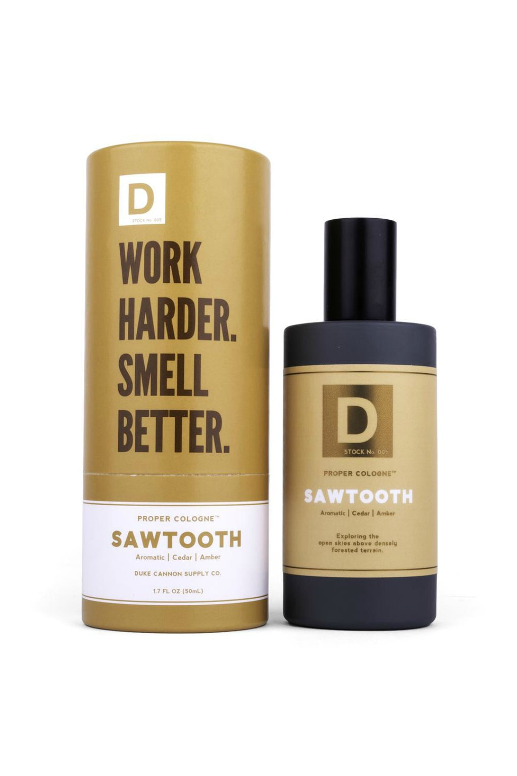 Duke Cannon Proper Cologne - Sawtooth