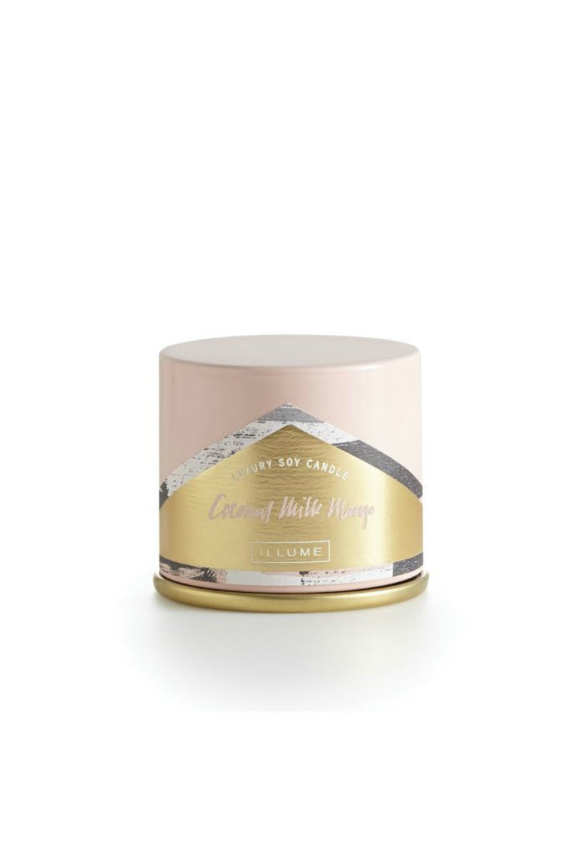 Illume Coconut Milk Mango Demi Vanity Tin Candle