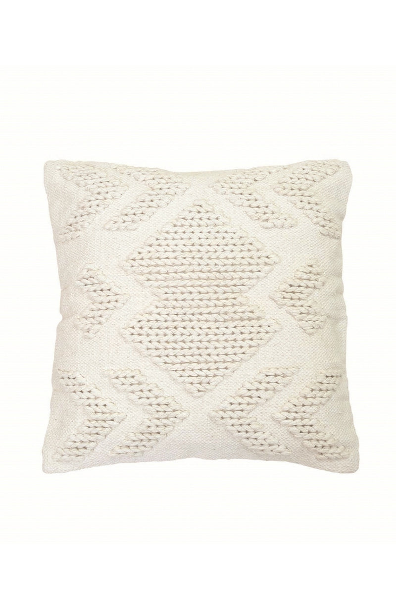 Foreside Hand-Woven Nia Pillow