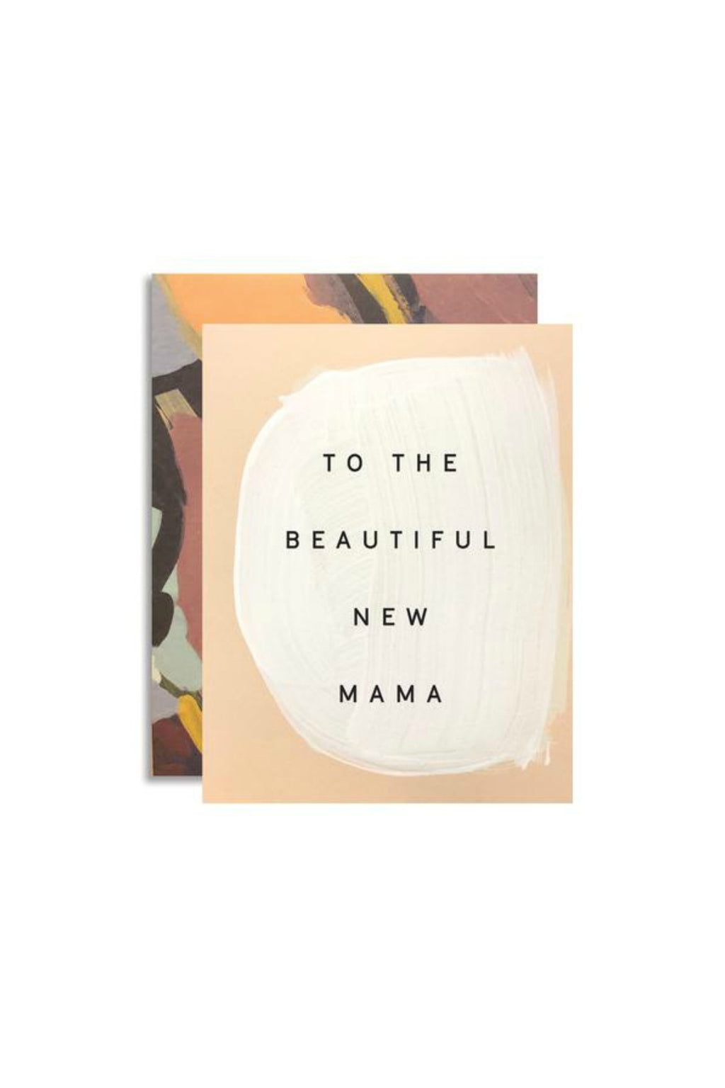 Moglea New Mama Greeting Card