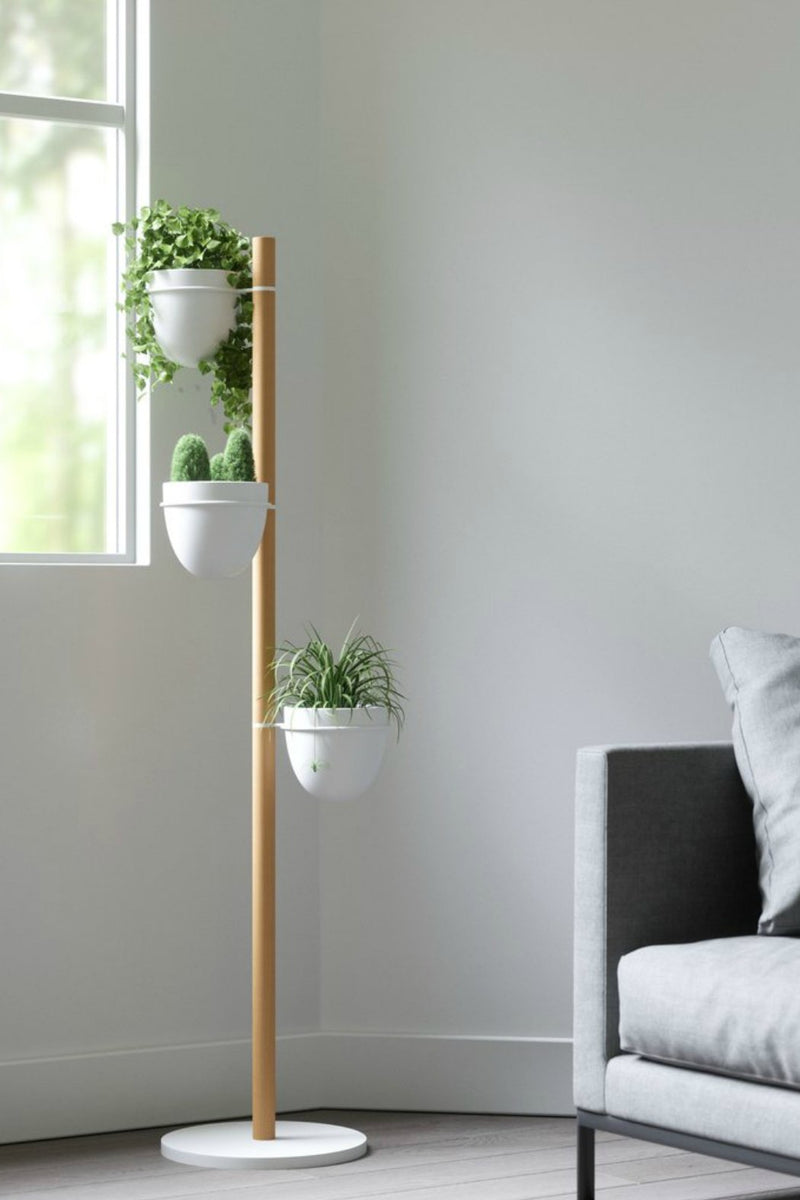 Umbra Floristand Plant Stand White