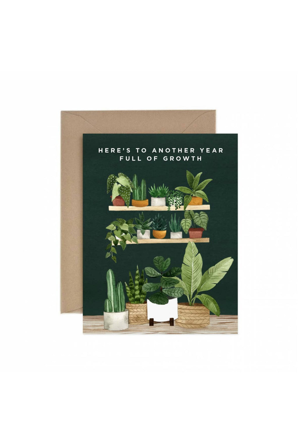 Paper Anchor Co. Full of Growth Greeting Card