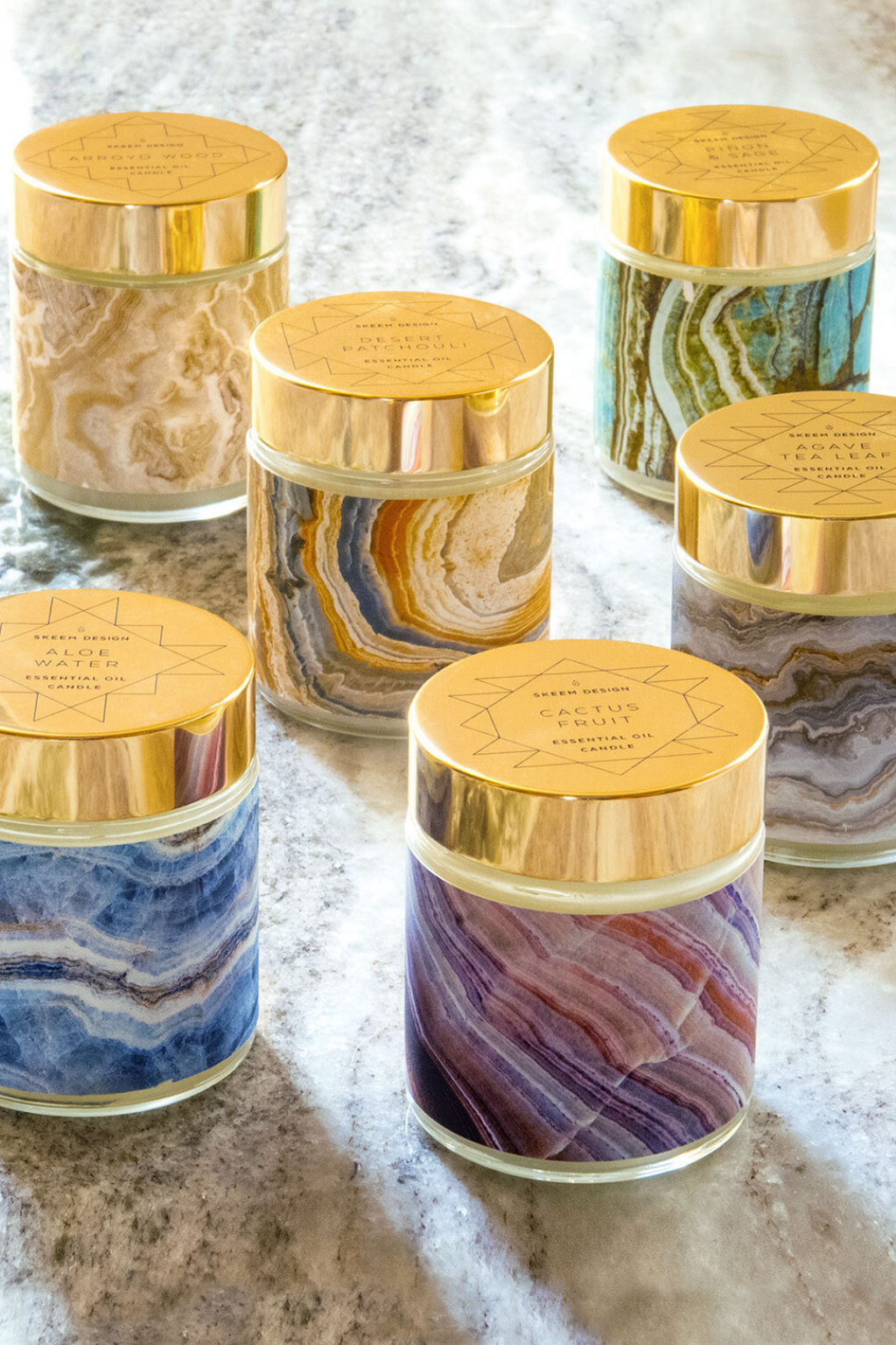 SKEEM Sedona Candles