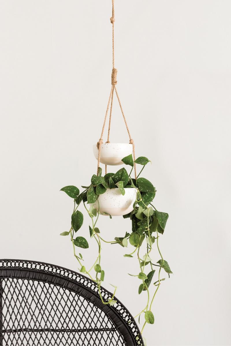 Accent Decor Porch Hanging Planter