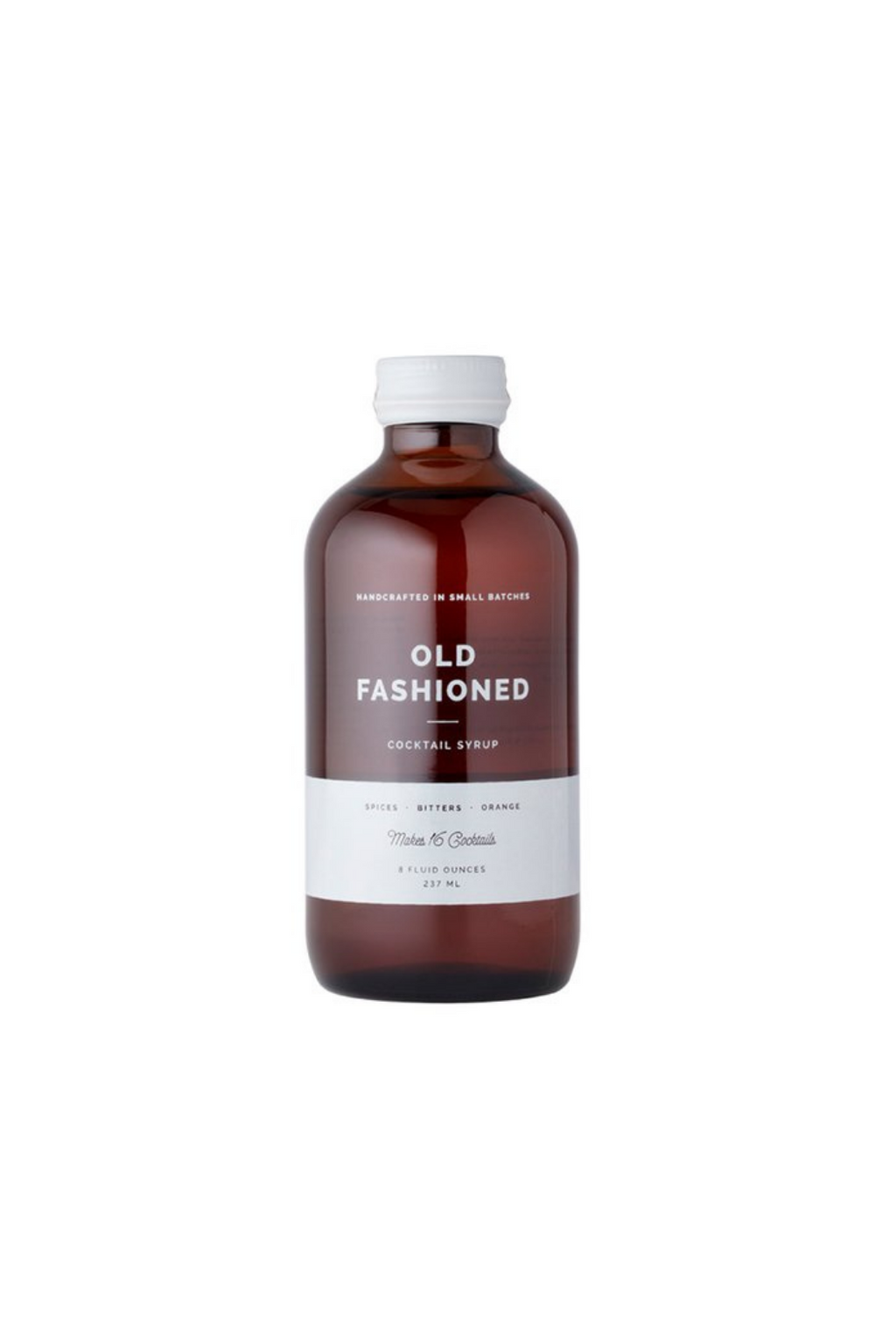 W&P Old Fashioned Craft Cocktail Syrup 8oz