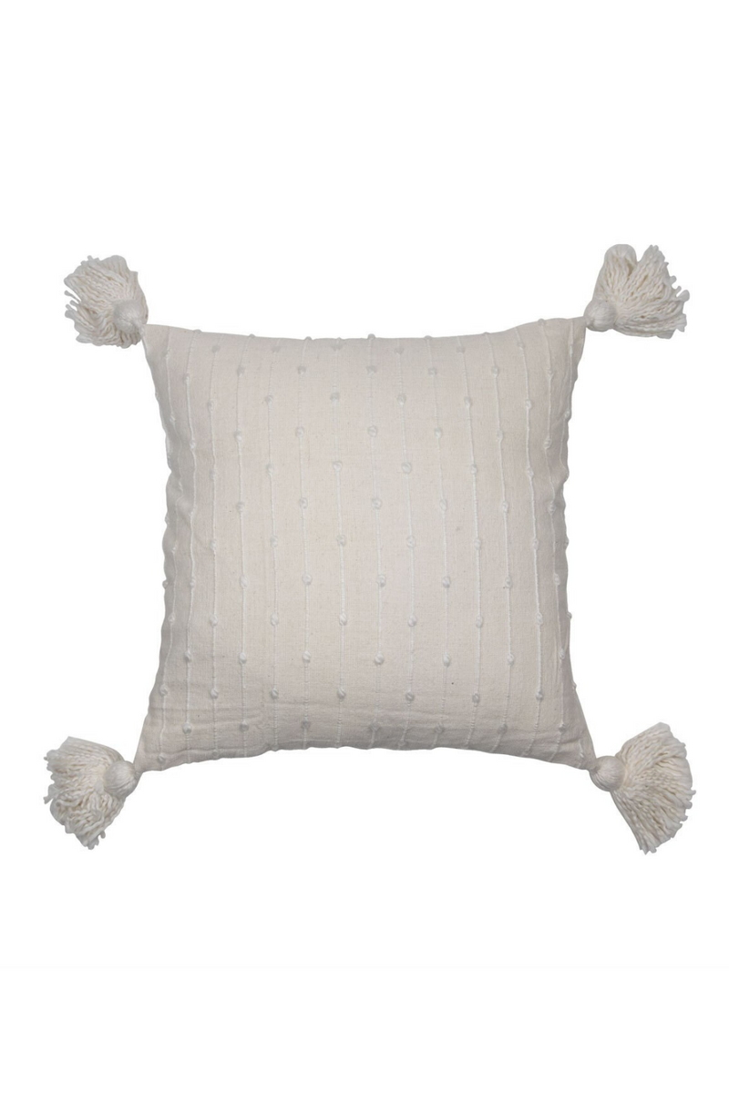 Foreside Home & Garden Hand Woven Kira Pillow