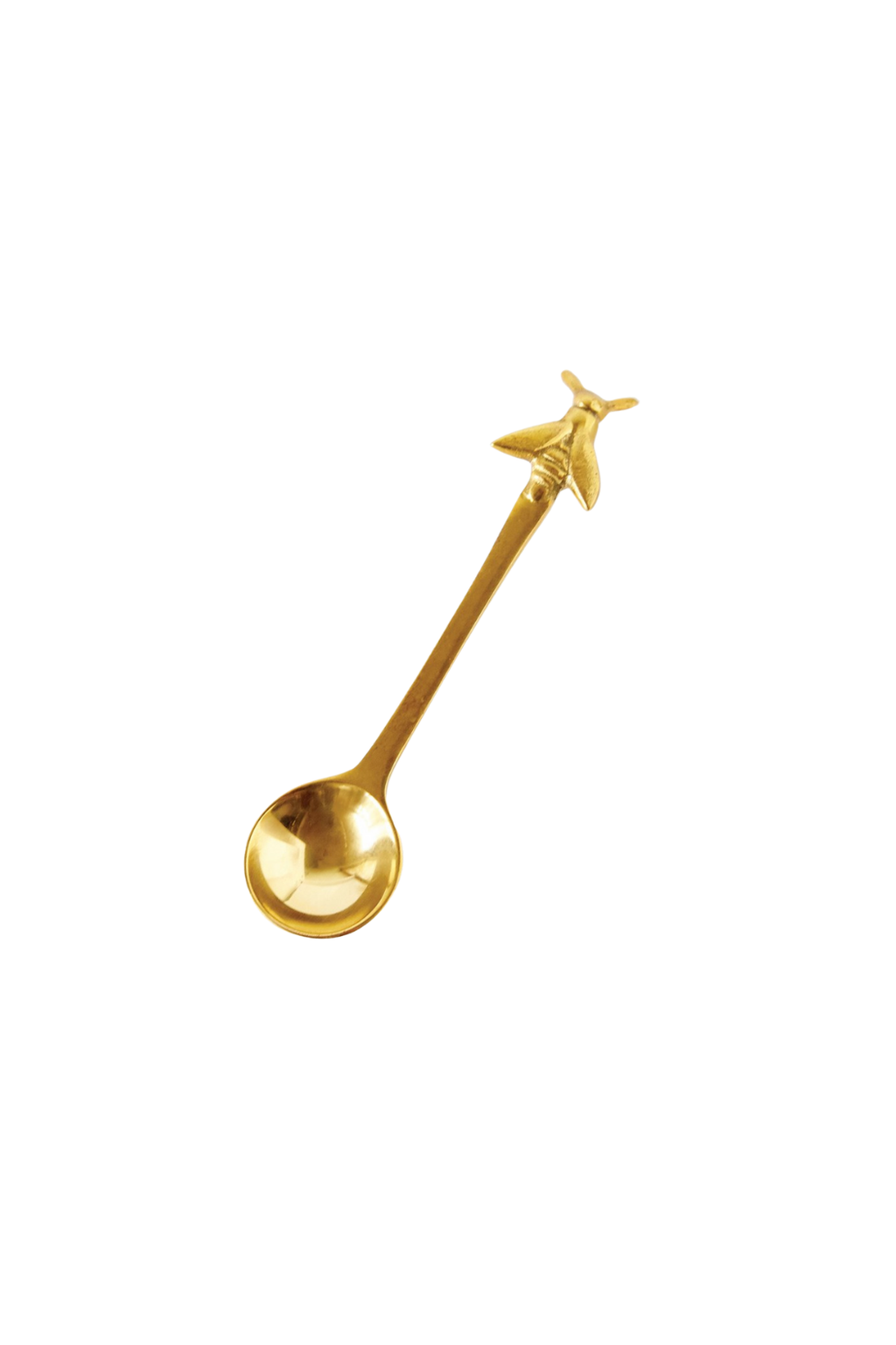 Creative Co-op Honeybee Brass Spoon