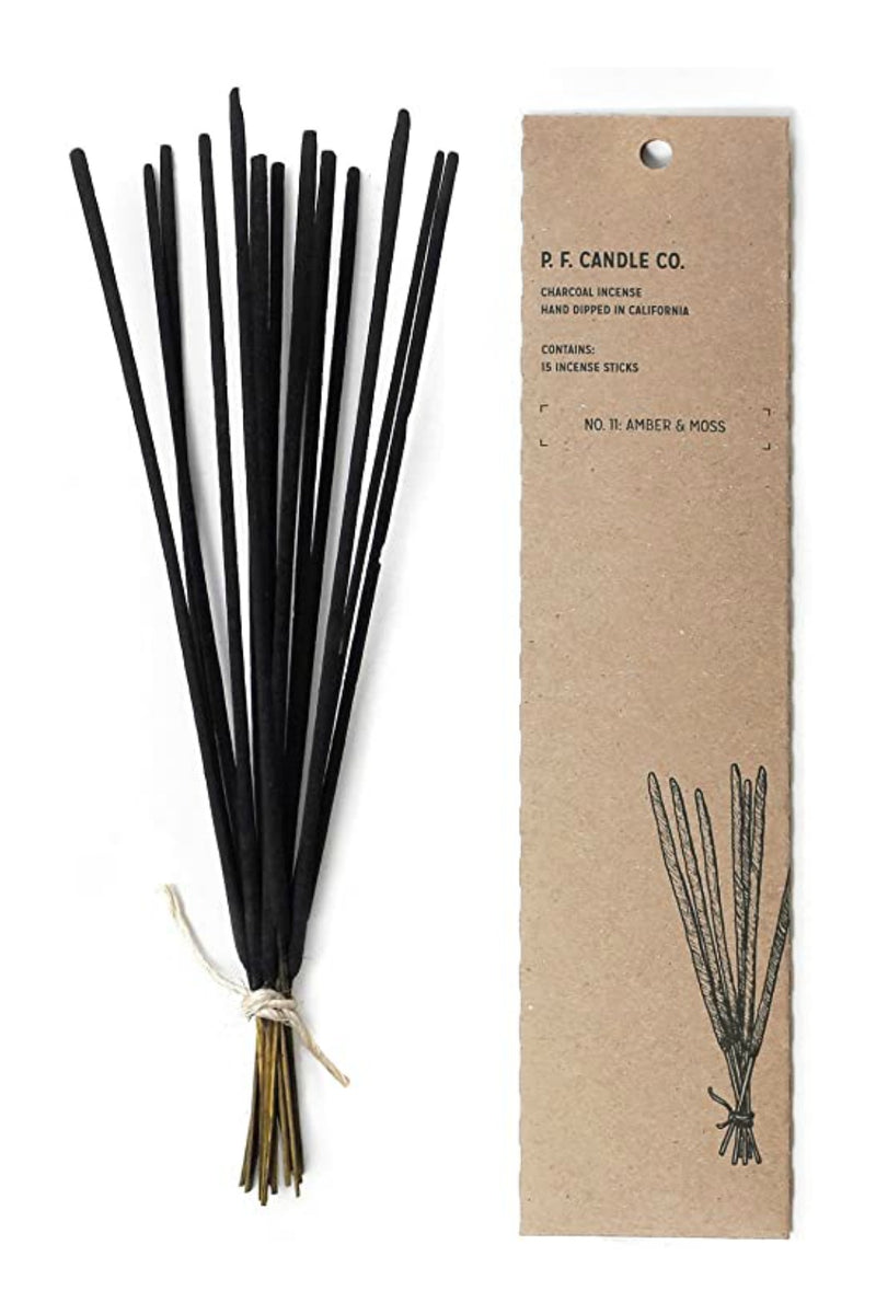 P.F. Candle Co Amber & Moss Incense Sticks