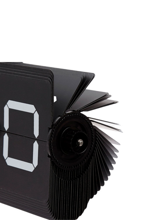 Cloudnola Luxe Black Flip Clock