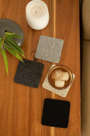 Graf Lantz Earth Felt Coaster Multi Pack