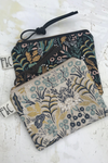 Frankie & Coco Pacific Zipper Pouch in First Light