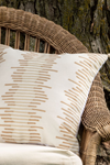 Foreside Home & Garden Hand-Woven Viejo Recycled Pillow