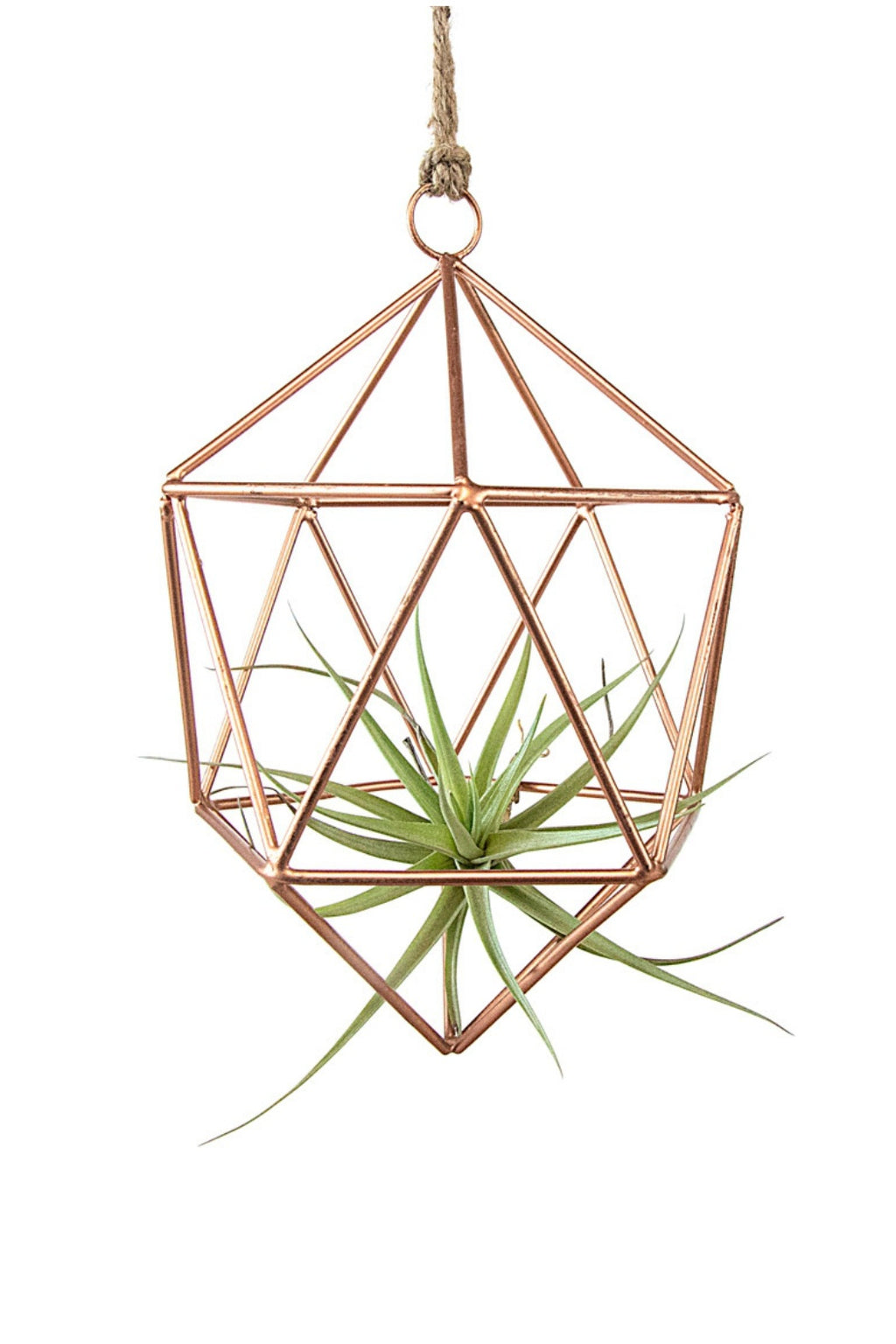 Geo Wire Copper Ornament