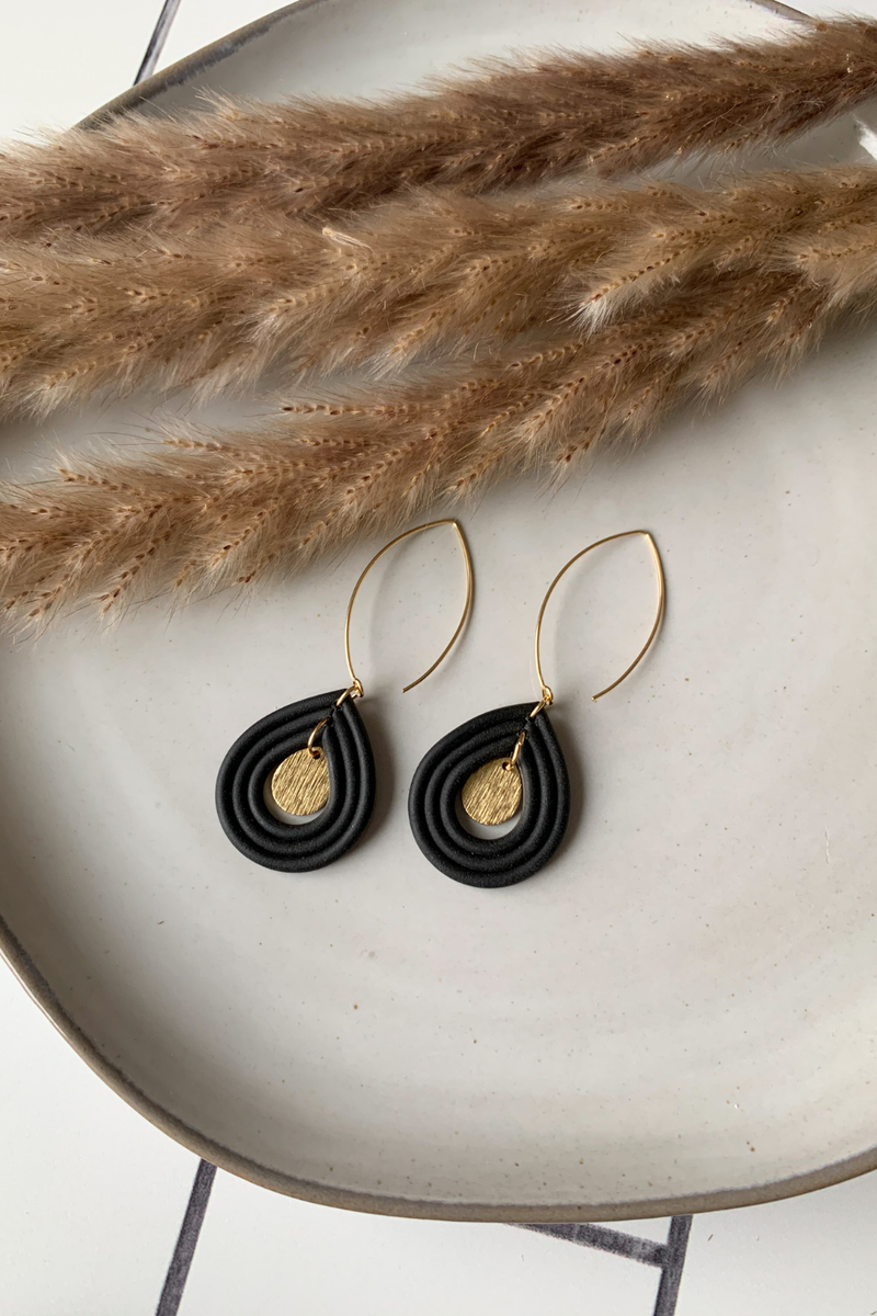 Sweet Nothings By Taniesha Daya Earrings in Black
