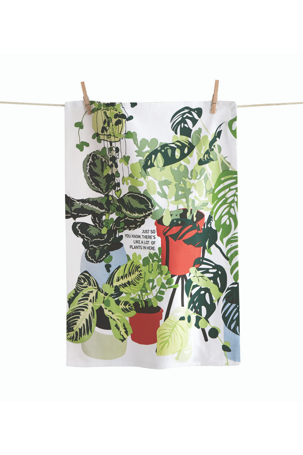 TAG Lots of Plants Tea Towel