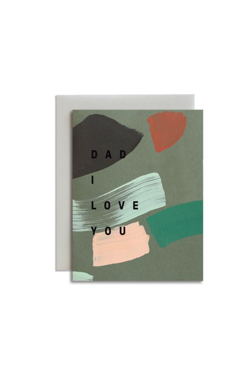 Moglea Dad I Love You Greeting Card