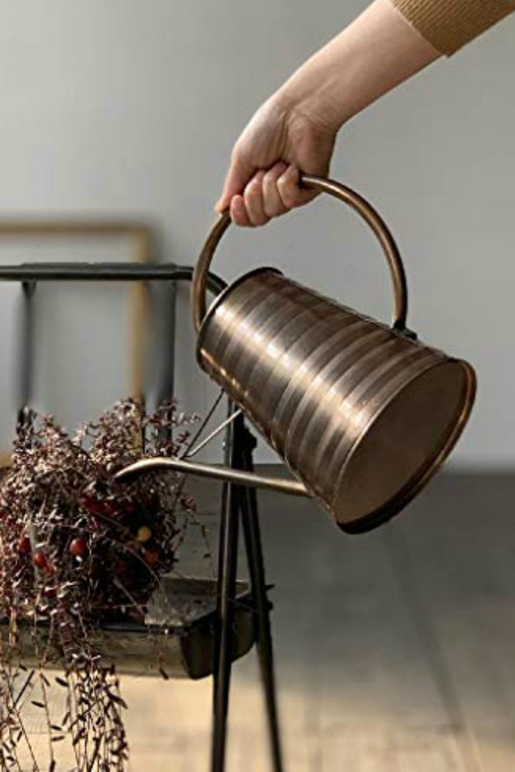 EcoVibe Style- Classical Bronze Watering Can