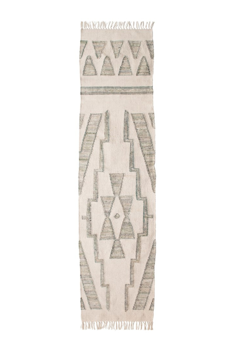 Creative Co-op Savannah Hand-Woven Kilim Runner DF4519