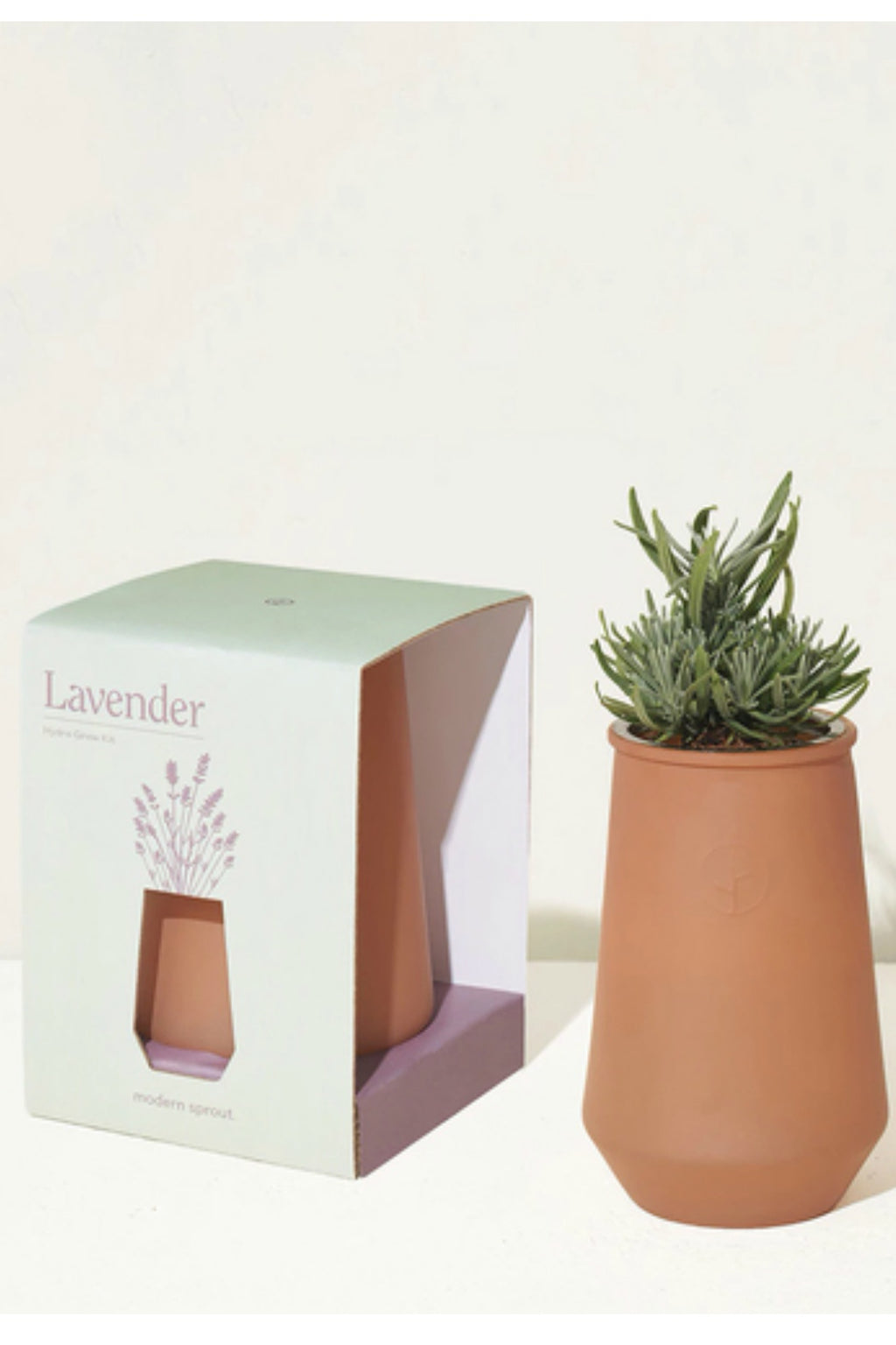 Modern Sprout Sahara Tapered Tumbler Hydroponic Grow Kit - Lavender
