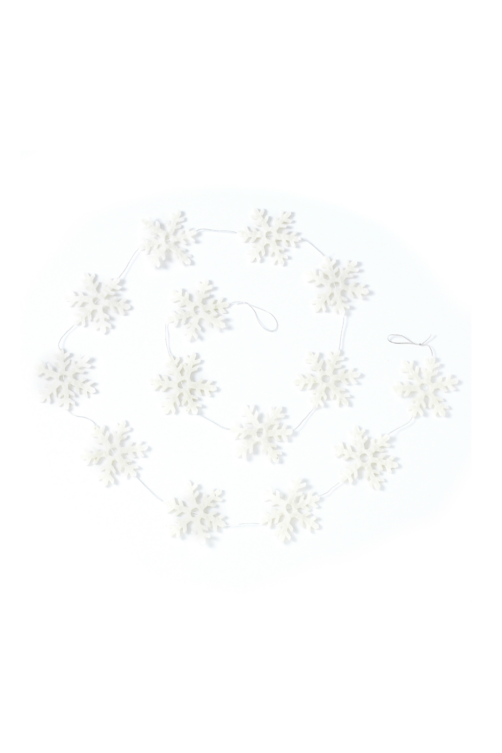 Accent Decor Snowy Garland