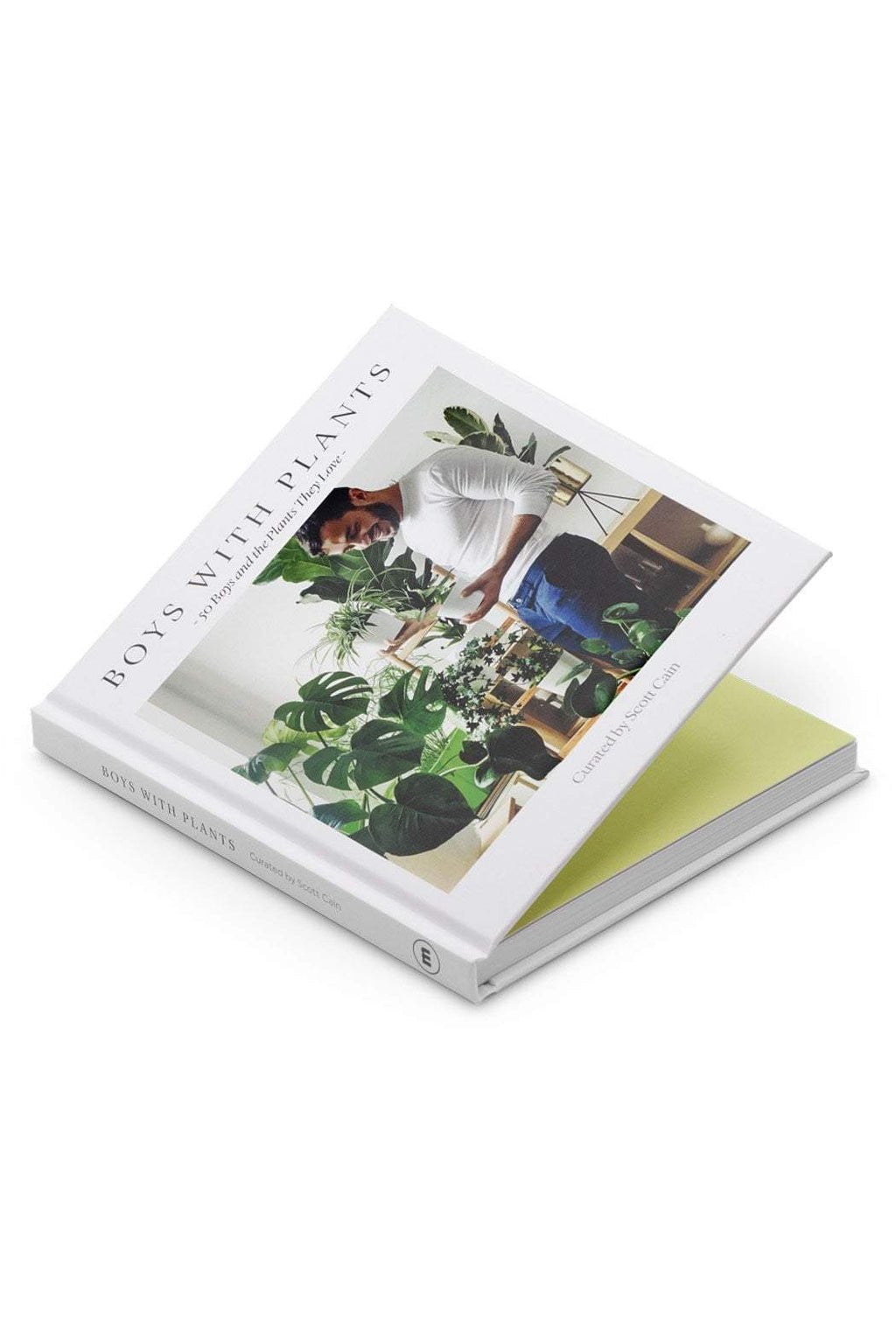 EcoVibe Style - 50 Boys and the Plants They Love: Boys With Plants by Scott Cain, Book