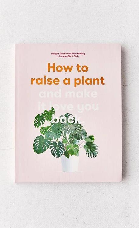 How to Raise a Plant: (and Make It Love You Back) by Erin Harding and Morgan Doane, Book