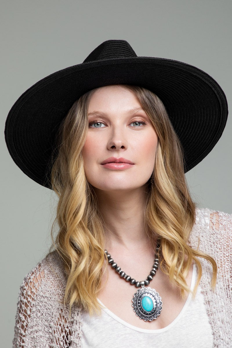 Urbanista Margo Panama Hat in Black