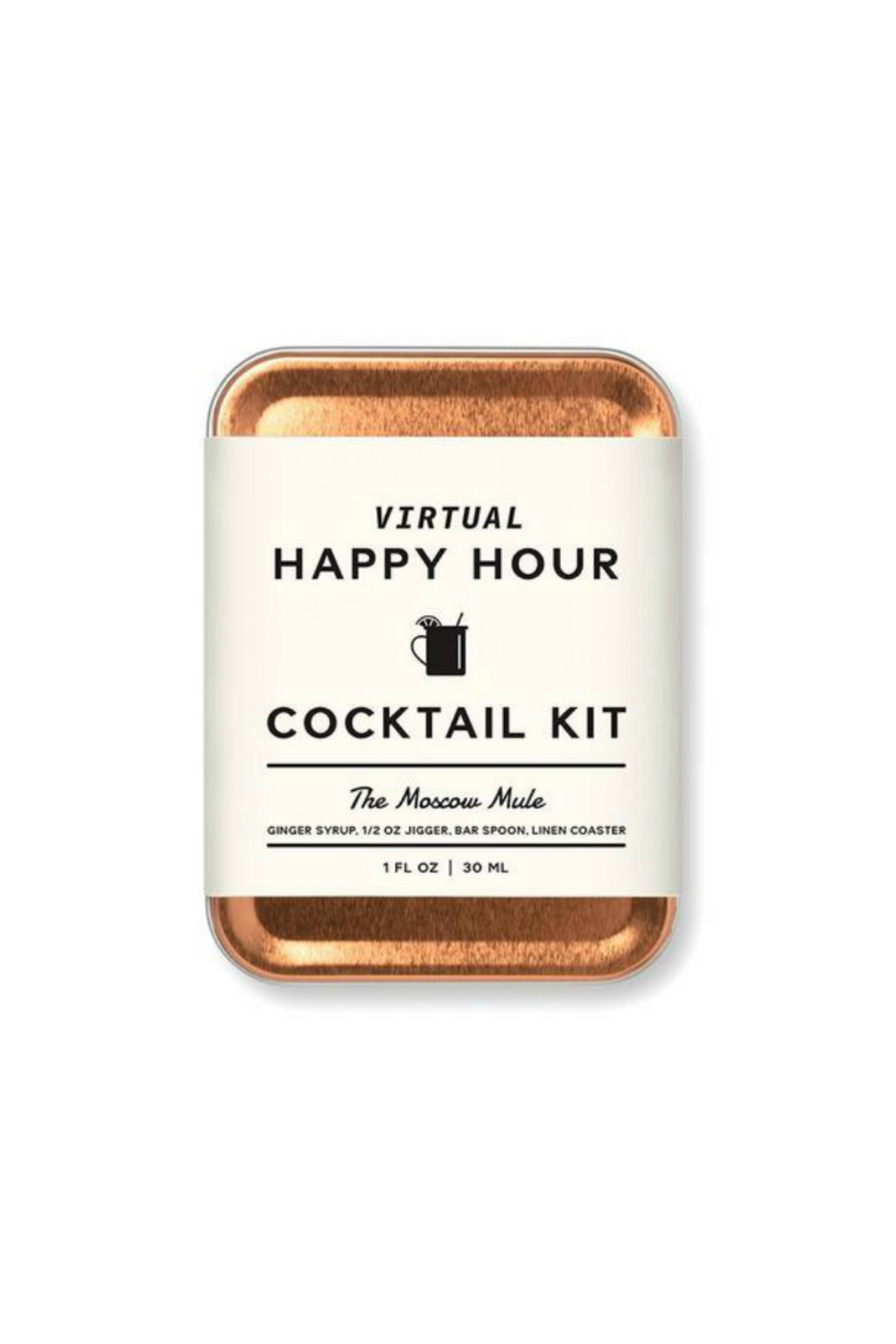 W&P Virtual Happy Hour Cocktail Kit Moscow Mule