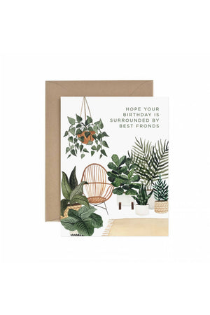 Paper Anchor Co. Best Fronds Birthday Greeting Card