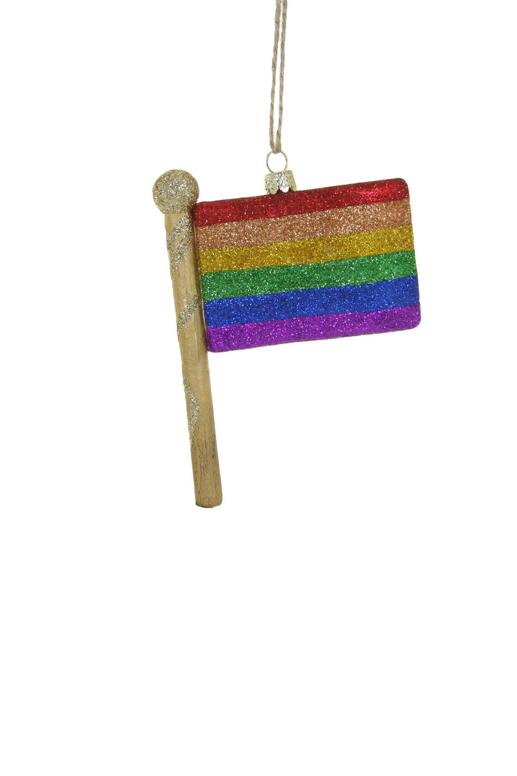 Cody Foster Pride Flag Ornament
