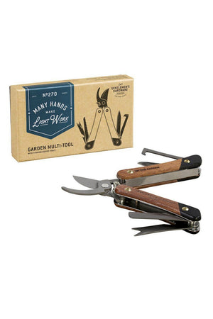 Gentleman's Hardware Wood Handled Garden Multi Tool