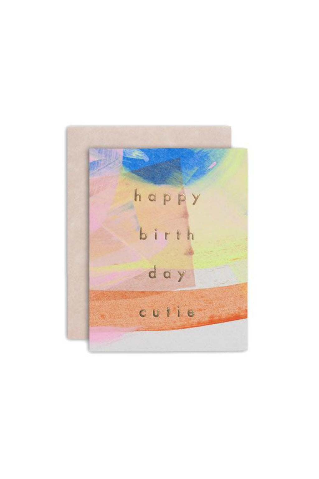 Moglea Birthday Cutie Greeting Card
