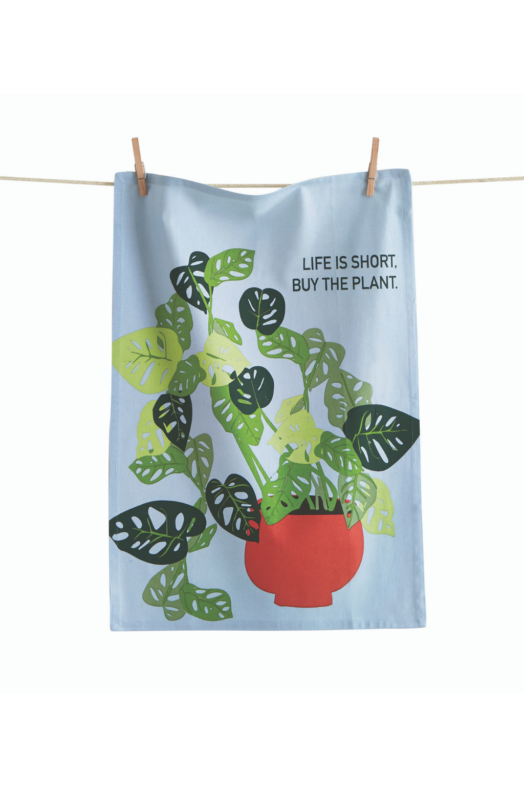TAG Buy the Plant Tea Towel