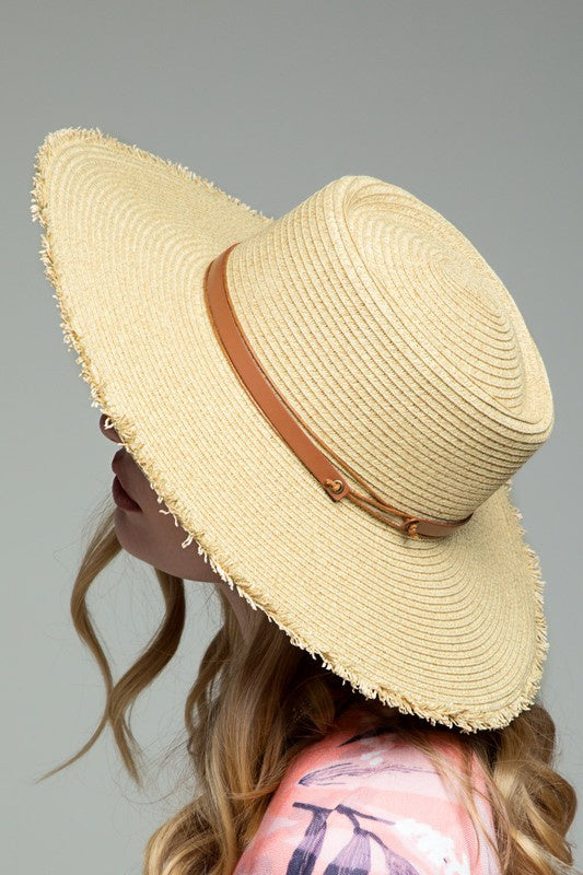 Urbanista Olivia Wide Sun Hat in Natural